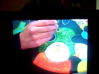 Plato giratorio navideño