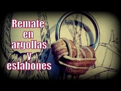 """Remate en argollas y eslabones """"El Rincón del Soguero"""""""