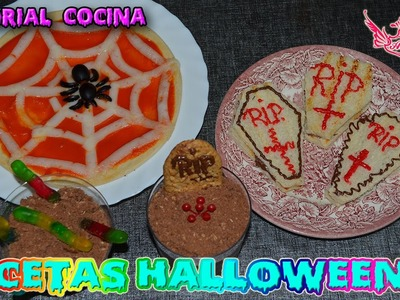 ♥ Tutorial: Halloween 2015 - Recetas super fáciles de Halloween ♥