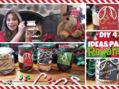 4 ideas regalos Hazlo tú mismo en Navidad. Alicia Borchardt