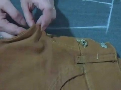 ✂ Como hacer el trazo del jeans levanta cola, sin patrones