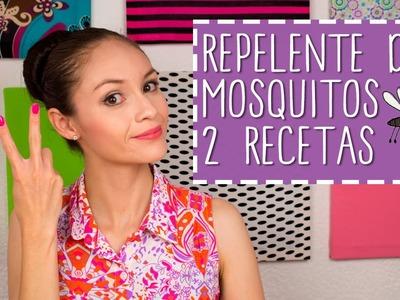 Como hacer Repelente de Mosquitos Casero - 2 Recetas Naturales - DIY ♥ - Catwalk