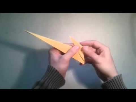 Como hacer un gato de papel facil origami  [Origami - Papiroflexia]