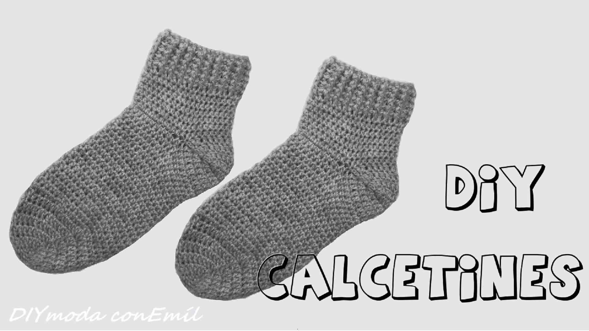 Cómo tejer calcetines o medias en crochet