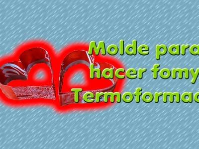 DIY | Molde para hacer fomy termoformado