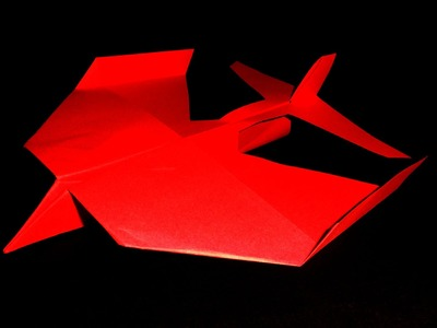 Easy origami el mejor avion planeador del mundo