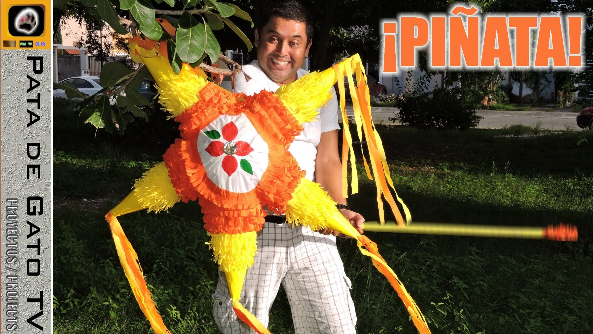 ¡Haz tu propia piñata!. Make your own pinata!