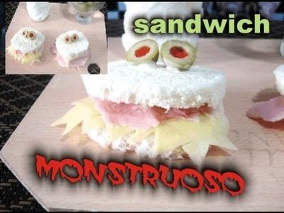 ¡sándwich monstruoso! ♥ fácil y rápido