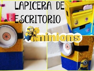 Lapicera de escritorio Minions por Fantasticazul