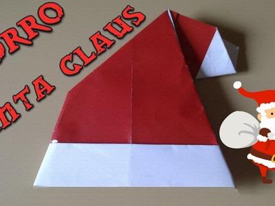#Origami - Gorro de Santa Claus