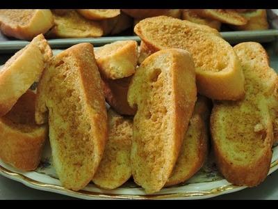 Pan con ajo, para acompañar.- LuzMa CyR