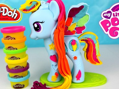 Plastilina Play Doh My Little Pony Rainbow Dash | MLP PLAY DOH