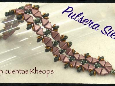 Pulsera Siena con cuentas Kheops