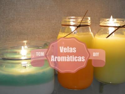 Velas Aromáticas.DIY.Mon♥