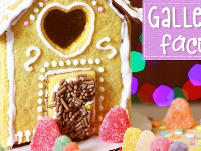 Casa de galletas, gomitas y dulces de navidad (Fácil) ✎  Craftingeek