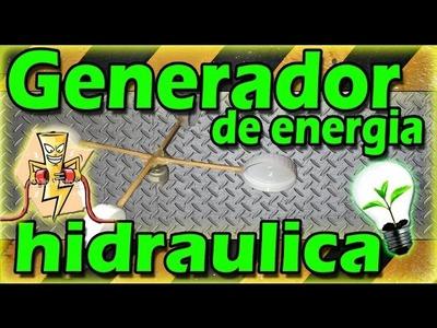 ◀︎▶︎Como crear energía con el agua[GENERADOR HIDRAULICO]