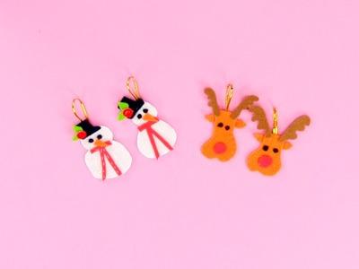 Cómo hacer adornos para el árbol de Navidad | Manualidades infantiles