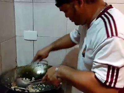 Como hacer el verdadero arroz chino