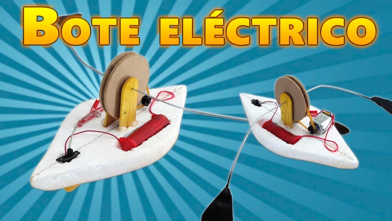 Como Hacer un Bote de Remos a Motor Eléctrico (Barco Eléctrico )