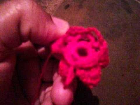 Como hacer una blusa con flores de crochet