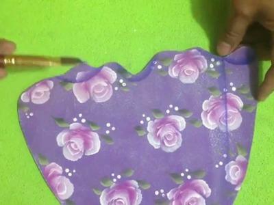 Como hacer vestidos en Foami