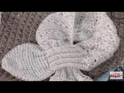 Como Tejer un Cuello de Bufanda en Lana - Hogar Tv  por Juan Gonzalo Angel