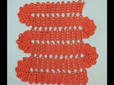 Crochet : Variación Encaje de Brujas