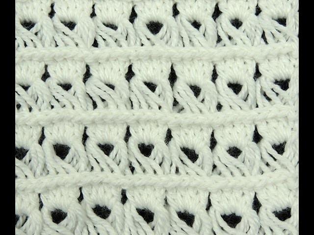 Crochet : Variación Punto Peruano