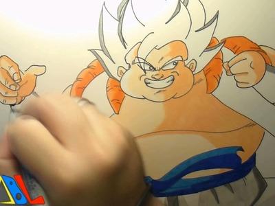 Dibujando a: Veku (El Renacer de la Fusion! Goku y Vegeta)