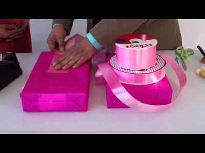 Envoltura  dia de reyes caja de regalos gift  box wrapping
