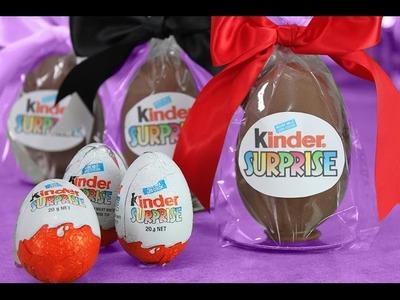 ¡Sorpresa Gigante Kinder! – HTM Huevos Kinder con Mi Adicción a Cupcakes y FluffyJet