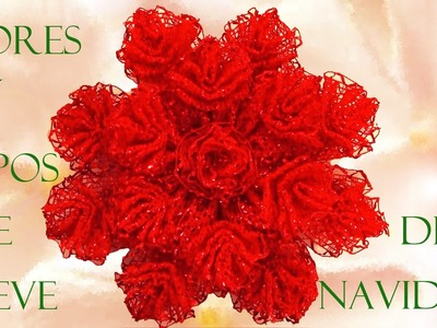 Manualidades moños y decoraciones navideñas- Crafts bows and Christmas decorations