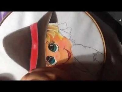 Pintura en tela Espantapajaros # 2 con cony
