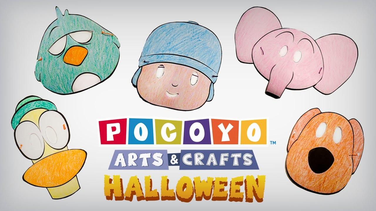 Pocoyó Arts & Crafts: ¡Máscaras de Halloween! [ep. 4]