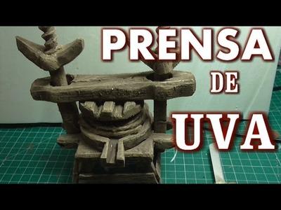 PRENSA DE UVAS COMO HACER - GRAPES FOR THE BETHLEHEM PRESS