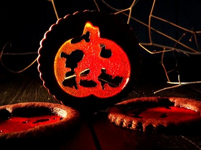 Receta: Galletas para Halloween de chocolate