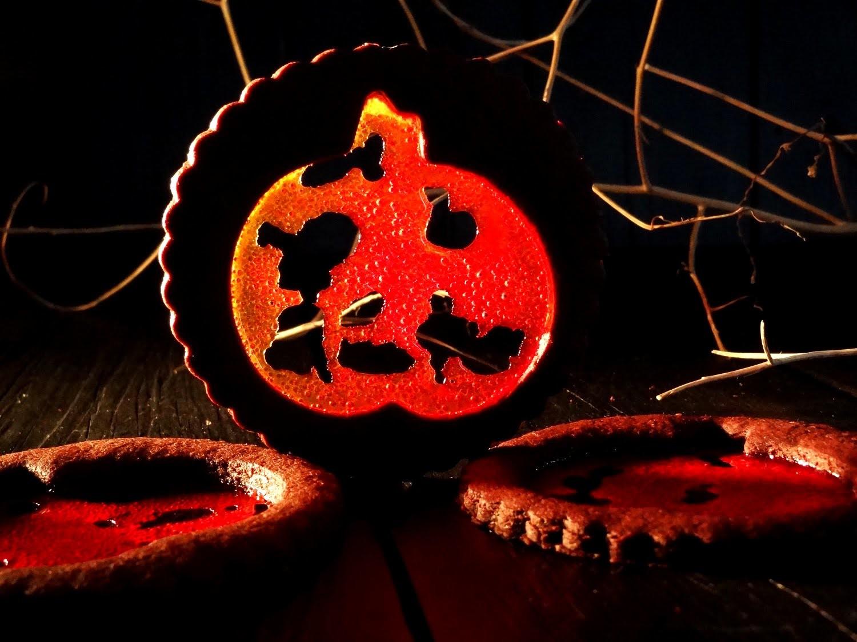 Receta: Galletas para Halloween de chocolate