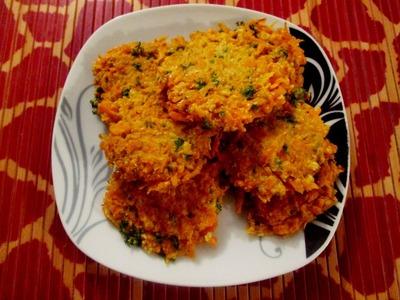 Receta - Hamburguesas de zanahoria