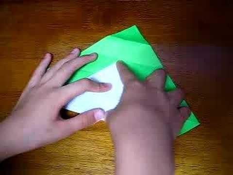 Serpiente en origami