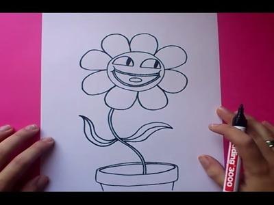 Como dibujar a Leslie paso a paso  - El asombroso mundo de Gumball  | How to draw a Leslie