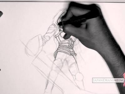 Como Dibujar Riven de League of Legends
