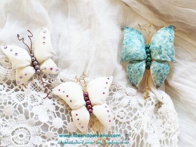 Como hacer mariposas para broches