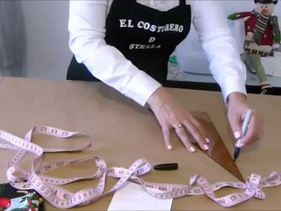 Como hacer un delantal- How to make an apron