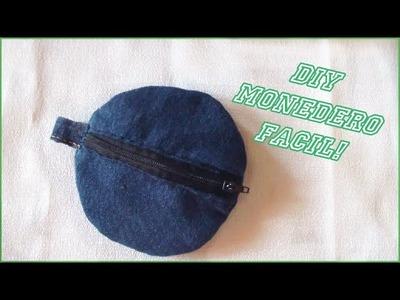Como hacer un Monedero con jean!✄ costura a mano ✧*Reciclaje