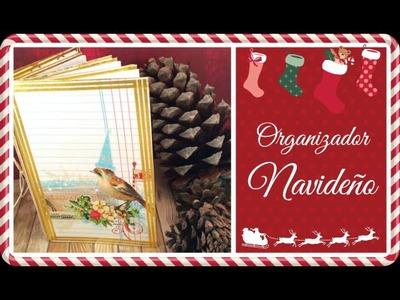 Cómo hacer un planificador de Navidad.El Decimo de Navidad 2015.  Episodio 1