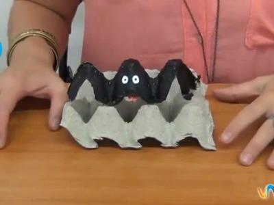 Cómo hacer una araña de cartón para Halloween