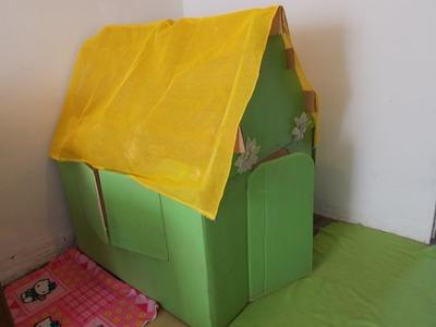 Como hacer una casa de juegos para niños