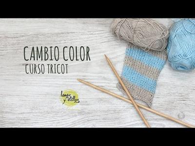 Curso Tricot - Cambio Color