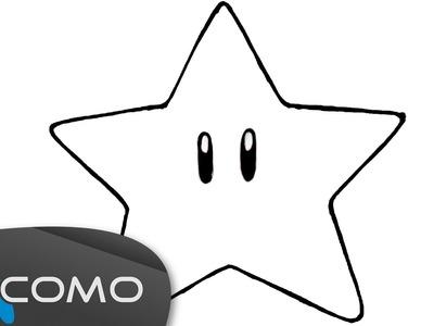 Dibujar una estrella de forma sencilla