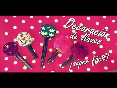 DIY 4 formas para decorar tus llaves ♥